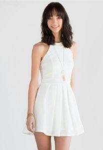 Dresses & Skirts - Francesca's white halter summer dress